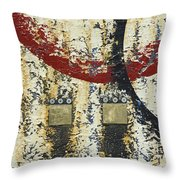Gold And Silver 3 Throw Pillow