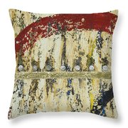 Gold And Silver 4 Throw Pillow
