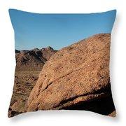 Gold Butte Sandstone Throw Pillow