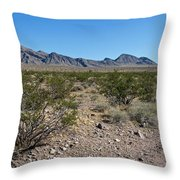 Gold Butte Skyline Throw Pillow