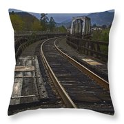 Gold Hill Crossing Throw Pillow