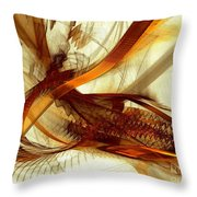 Gold Inspiration Throw Pillow