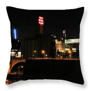 Gold Medal Flour Throw Pillow