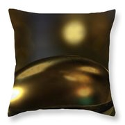 Golden Eggs Throw Pillow