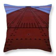 Golden Gate Bridge Vertical Throw Pillow
