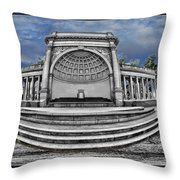 Golden Gate Park Stage  Throw Pillow