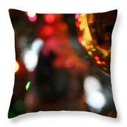 Golden Globe Throw Pillow