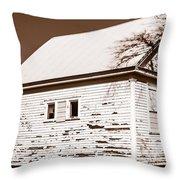 Golden Hill School 1860 - 1958 Throw Pillow