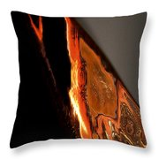 Golden Vulture Throw Pillow