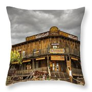 Goldfield Ghost Town - Peterson's Mercantile  Throw Pillow