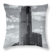 Goldman Sachs Tower Iv Throw Pillow