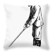 Golf, 1891 Throw Pillow