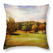 Golf Course IIi Throw Pillow