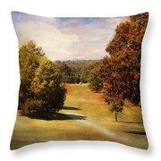 Golf Course Iv Throw Pillow