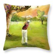 Golf In Spain Castello Masters  04 Throw Pillow