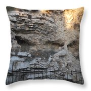 Golgotha The Place Of The Skull Throw Pillow