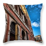 Gondola View Throw Pillow