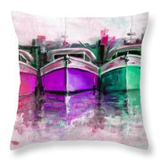 Gone Home 2 Throw Pillow