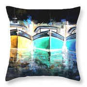 Gone Home 9 Throw Pillow