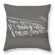 Gone To Find Myself Throw Pillow