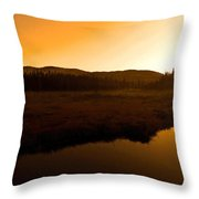 Good Morning Laurentians ...   Throw Pillow