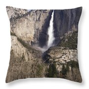 Good Morning Yosemite Throw Pillow