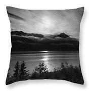 Good Night Seward Throw Pillow