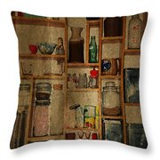 Good Old Fashioned Kitchen Charm Throw Pillow