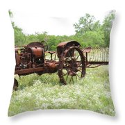 Good Ole Days Throw Pillow