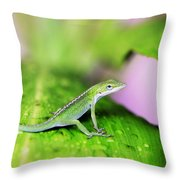 Good To Be Green Throw Pillow