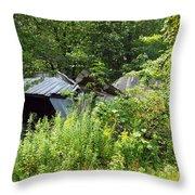 Good Wood Throw Pillow