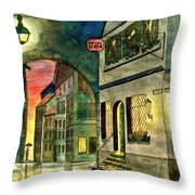 Goodnight Old Friends Throw Pillow