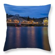 Goodspeed Opera House Throw Pillow