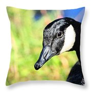 Goose Art Throw Pillow