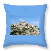 Gordes In Provence Throw Pillow