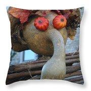 Gordo The Scarecrow Throw Pillow