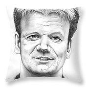 Gordon Ramsey Throw Pillow