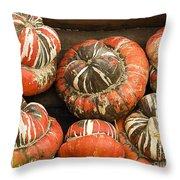 Gorgeous Gourds Throw Pillow