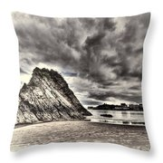 Goscar Rock Tenby Cream Throw Pillow