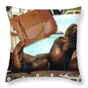 Got Fishermen Throw Pillow