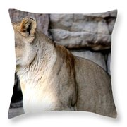 Got You In My Sights Throw Pillow