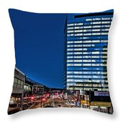 Gotham At The Plaza Throw Pillow
