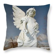 Gothic Blue Sky Throw Pillow
