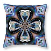 Gothic Blues Throw Pillow