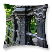 Gothic Design Throw Pillow