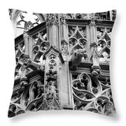 Gothic Drama Throw Pillow