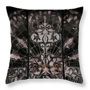 Gothic Squidward Throw Pillow