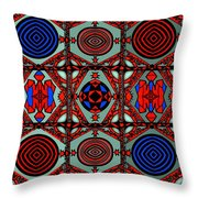 Gothic Wall Throw Pillow