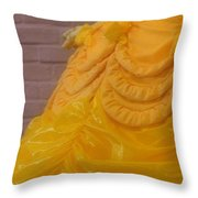 Gown Of A Princess Throw Pillow