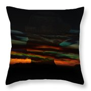 Grabbing Life By The Colors Throw Pillow